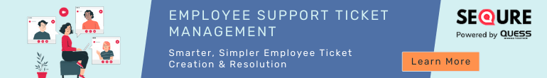 Employee Support Ticket Management IWMS