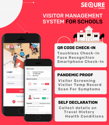 Touchless Visitor Management System for Schools